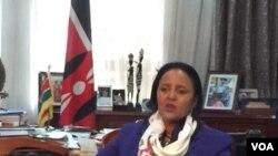 Waziri wa mambo ya nje wa Kenya, Amina Mohamed.
