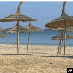 Une plage de Hammamet