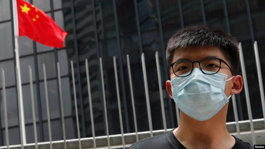 Joshua Wong nằm trong số các nhà hoạt động bị cấm tham gia bầu cử ở Hong Kong vào tháng 9/2020.