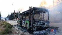 2016-12-19 美國之音視頻新聞: 阿勒頗恢復撤退行動