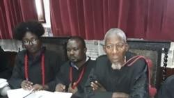 Jovens de Cabinda vão continuar a manifestar-se até deixarem de ser presos, diz Arão Tempo