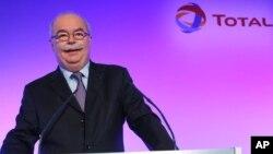 法国石油巨头道达尔总裁马哲睿