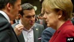 Yevropa Ittifoqiga a'zo Italiya, Gretsiya va Germaniya rahbarlari
