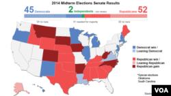 Republicans take over U.S. Senate