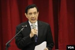 台湾总统马英九 (美国之音杨明)