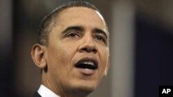 مبارک کا استعفیٰ تبدیلی کی طرف پہلا قدم: اوباما