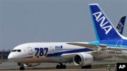 28일 시험비행을 마친 전일본공수(ANA) 항공의 보잉 787 여객기