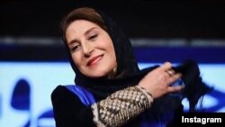 فاطمه معتمد آریا در مراسم افتتاحیه جشنواره فیلم فجر