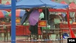 中國廣東陸豐烏坎星期一舉行了第二次村民委員會換屆直選。(視頻截圖)