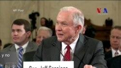 Sessions negó haber tenido contactos con funcionarios rusos