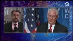 Тиллерсон рассказал, когда могут быть отменены санкции против Москвы