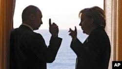 Από προηγούμενη συνάντηση της κ. Μέρκελ με τον Ρώσο Πρόεδρο