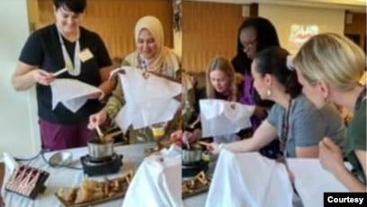 Selama di Amerika, Ratna Cary telah menggelar workshop di berbagai kota dan institusi. (Foto: Ratna Cary)