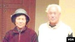 梁伯琪和趙紫陽合影 (照片來自網絡)