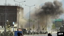 Здание афганского парламента в Кабуле