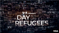 VOA A Day in the life of Refugees