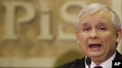 波蘭總統卡欽斯基在空難事故中喪生
