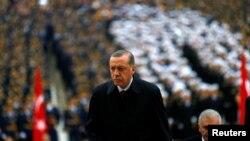 Le président turc Recep Tayyip Erdogan, 29 octobre 2016.