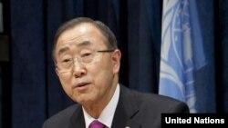 Sekjen PBB Ban Ki-moon mengulangi seruan dilangsungkannya solusi politik, yang menurutnya merupakan satu-satunya cara untuk menyelesaikan krisis di Suriah (Foto: dok).