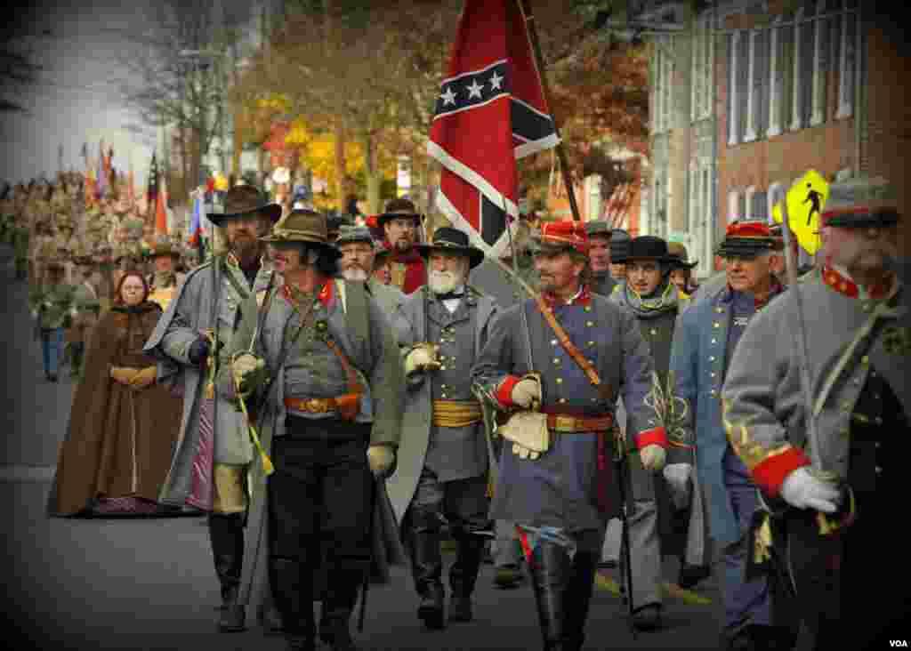 Под флагом Конфедерации