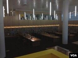 Reading room at North Carolina State University, by Nathan Walls