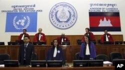 Tòa án được Liên Hiệp Quốc hậu thuẫn đã kết án một cựu giới chức Khmer Đỏ tù chung thân