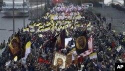 Московский «Русский марш». 4 ноября 2012 г.