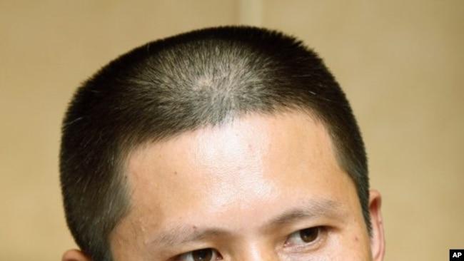 中国公民运动标志性人物许志永 美联社照片