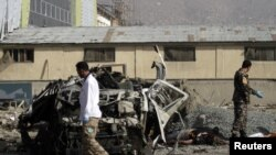 Suicide Bomber Kills Foreigners near Kabul