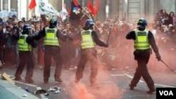 Larangan pawai protes akan diterapkan di London untuk mencegah kerusuhan seperti yang terjadi awal bulan lalu.