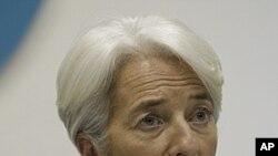 国际货币基金组织总裁拉加德(资料照)