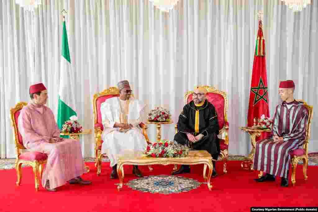 Ziyarar Shugaba Muhammadu Buhari a Morocco