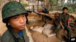 緬甸兒童兵。(資料照)