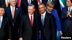 Başkan Obama ve Cumhurbaşkanı Erdoğan en son geçen hafta Antalya'daki G-20 Zirvesi'nde bir araya gelmişti.