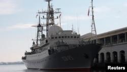 Корабль-разведчик ВМФ РФ «Виктор Леонов»