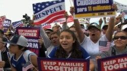 В Вашингтоне прошла акция в поддержку иммиграционной реформы