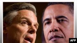 Ðại sứ Hoa Kỳ tại Trung Quốc John Huntsman (trái) đang nghĩ tới việc ra tranh cử với Tổng thống Obama trong cuộc bầu cử năm 2012