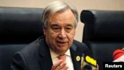 Sekjen PBB Antonio Guterres berjanji tidak akan mentolerir pelecehan seksual di tempat kerja.