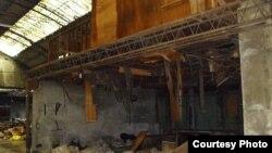 东门市场火灾后惨状