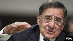 Direktur CIA, Leon Panetta, memberi kesaksian di hadapan Komisi Angkatan Bersenjata Senat AS, Kamis (9/6).