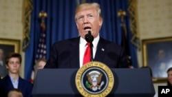 도널드 트럼프 미국 대통령.