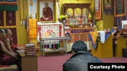 New York Holds Prayer Service for Thinley Namgyal