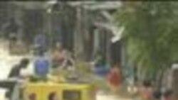 2012-08-08 美國之音視頻新聞: 菲律賓暴雨成災造成8人死亡