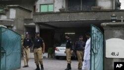 لاہور کے معروف علاقے ماڈل ٹاؤن میں ڈاکٹر وارن وائنس ٹائن کی رہائش گاہ