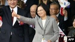 台湾总统蔡英文(资料照片)