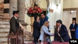 Mediante decreto supremo 4107, la presidenta interina de Bolivia, eliminó visas para el ingreso de israelíes a ese país. Foto Yuvinca Avilez.