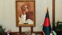 ကုလအေထြေထြညီလာခံဥကၠ႒ နဲ႔ ဝန္ႀကီးခ်ဳပ္ Sheikh Hasina ရိုဟင္ဂ်ာဒုကၡသည္ အေရးေဆြးေႏြး