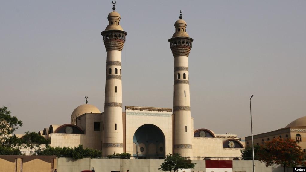 A view of Al-Azhar University in Cairo, Egypt, taken April 17, 2016.