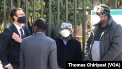 Zimbabwe Journalist Hopewell Chin'ono and Transform Zimbabwe Leader Jacob Ngarivhume have been locked up for allegedly inciting people to rise up against the government.
