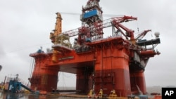 Giàn khoan Hải Dương 981 của Trung Quốc.